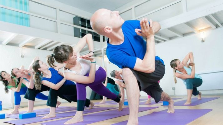 Yoga class at O Yoga 20th Nov