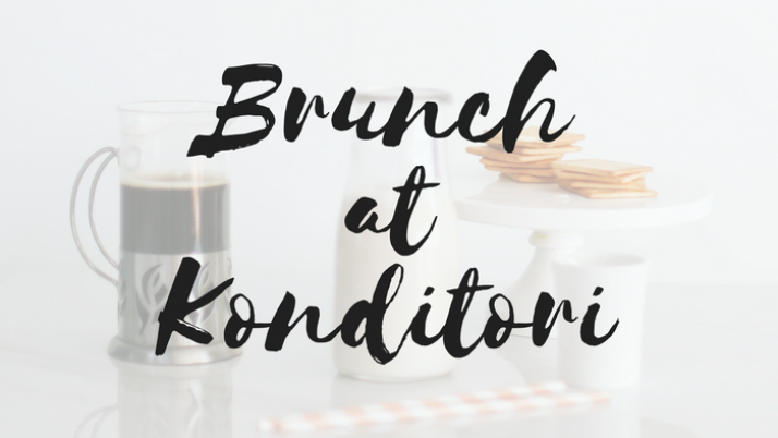 Brunch at Konditori March 25th