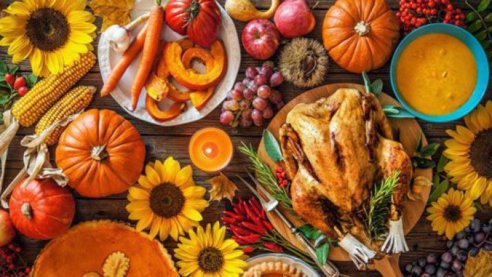 Thanksgiving Potluck Nov. 18